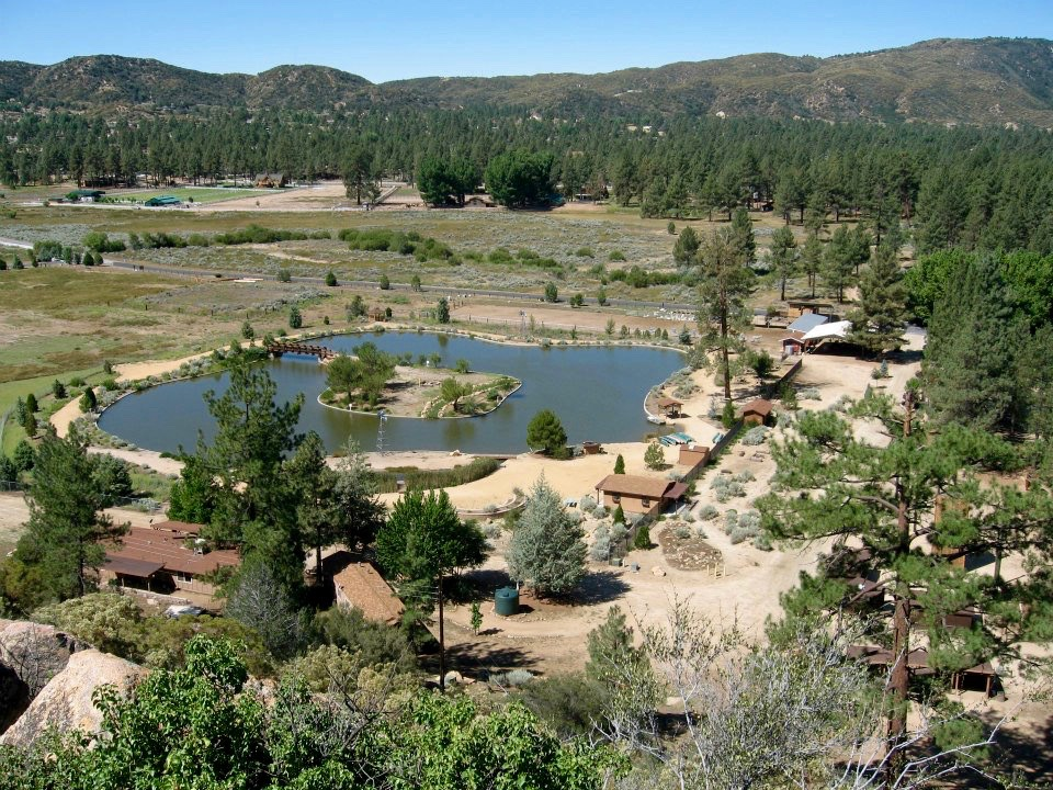 Present Day Pathfinder Ranch from above